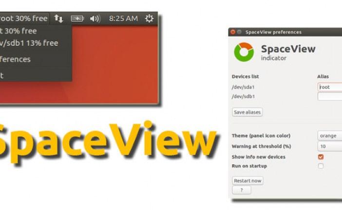 SpaceView ابزاری برای نمایش میزان فضای مصرفی