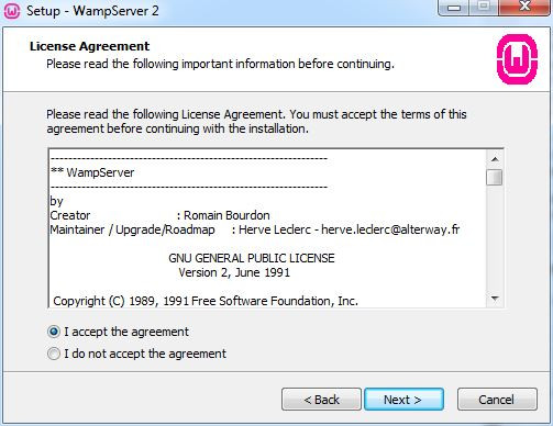 نصب وردپرس بر روی WAMP