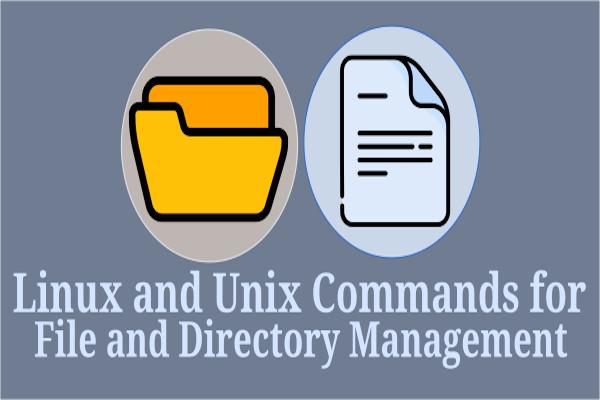 مدیریت فایلها و دایرکتوریها در خط فرمان