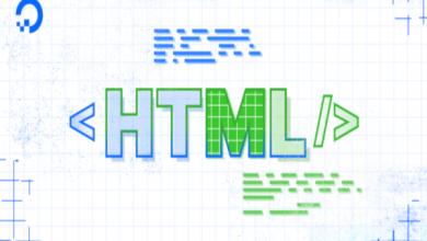 افزودن متن به HTML