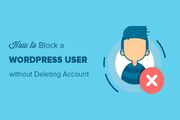 مسدود کردن کاربر بدون حذف حساب کاربری