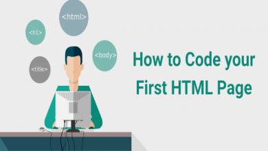 صفحه HTML